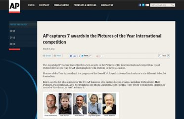 http://www.ap.org/Content/Press-Release/2012/AP-captures-7-awards-in-the-Pictures-of-the-Year-International-competition