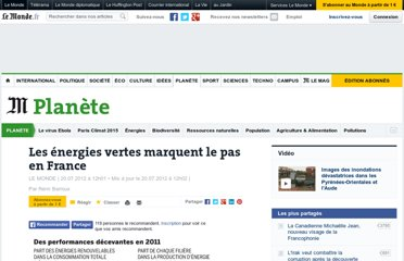 http://www.lemonde.fr/planete/article/2012/07/20/les-energies-vertes-marquent-le-pas-en-france_1736274_3244.html