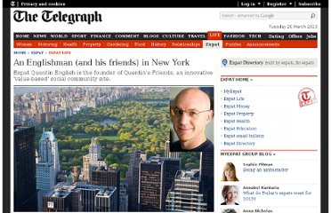 http://www.telegraph.co.uk/expat/expatlife/8735190/An-Englishman-and-his-friends-in-New-York.html