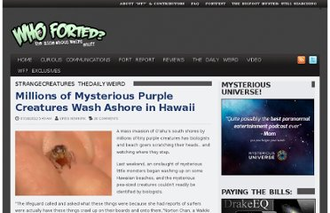 http://whofortedblog.com/2012/07/18/millions-mysterious-purple-creatures-wash-ashore-hawaii/
