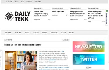 http://dailytekk.com/2012/04/09/edtech-100-tech-tools-for-teachers-and-students/#.T5esZNn2R6Y