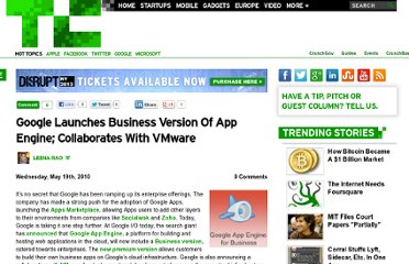 http://techcrunch.com/2010/05/19/google-launches-business-version-of-app-engine-collaborates-with-vmware/