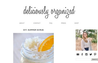 http://deliciouslyorganized.blogspot.com/2011/07/diy-summer-scrub.html