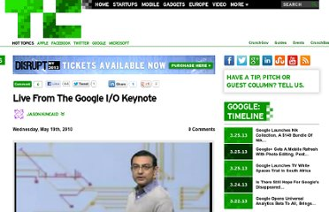 http://techcrunch.com/2010/05/19/live-from-the-google-io-keynote/