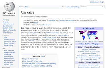 http://en.wikipedia.org/wiki/Use_value