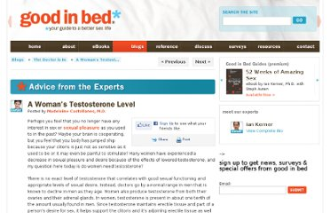 http://www.goodinbed.com/blogs/sex_doctors/2011/12/a-womans-testosterone-level/