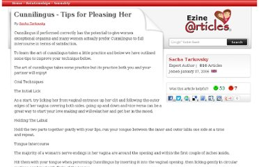 http://ezinearticles.com/?Cunnilingus---Tips-for-Pleasing-Her&id=155258
