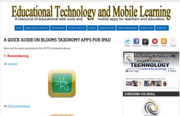 http://www.educatorstechnology.com/2012/07/a-quick-guide-on-blooms-taxonomy-apps.html