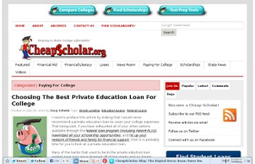 http://cheapscholar.org/2010/07/08/choosing-the-best-private-education-loan-for-college/