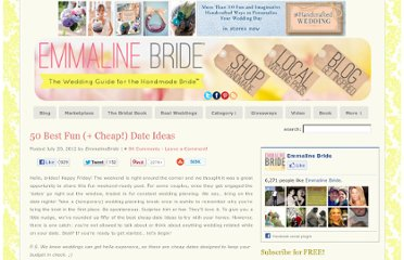http://emmalinebride.com/planning/50-best-cheap-date-ideas/