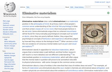 http://en.wikipedia.org/wiki/Eliminative_materialism