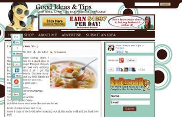 http://goodideasandtips.com/2010/10/hearty-chicken-soup/