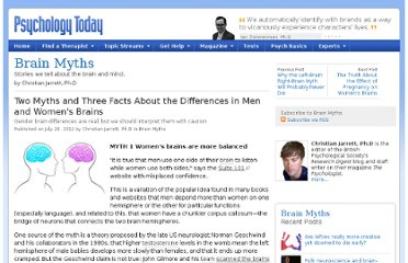 http://www.psychologytoday.com/blog/brain-myths/201207/two-myths-and-three-facts-about-the-differences-in-men-and-womens-brains
