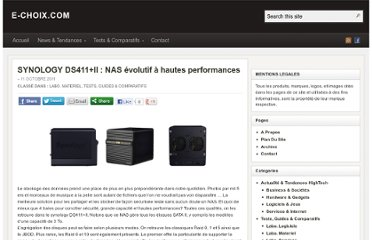 http://e-choix.com/tests-guides-comparatifs/synology-ds411ii-nas-evolutif-a-hautes-performances