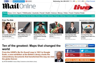 http://www.dailymail.co.uk/home/moslive/article-1272921/Ten-greatest-maps-changed-world.html