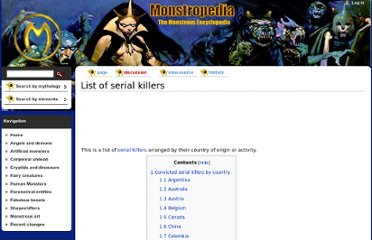 http://www.monstropedia.org/index.php?title=List_of_serial_killers