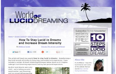http://www.world-of-lucid-dreaming.com/how-to-stay-lucid.html