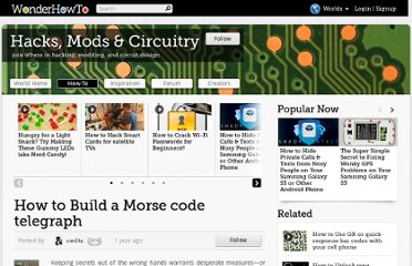 http://mods-n-hacks.wonderhowto.com/how-to/build-morse-code-telegraph-157607/