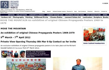 http://www.richardgoodallgallery.com/contemporaryart/move-the-mountain-an-exhibition-of-original-chinese-propaganda-posters-1969-to-1979-news-84.html