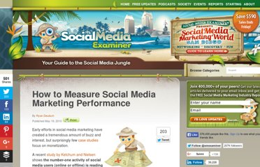 http://www.socialmediaexaminer.com/how-to-measure-social-media-marketing-performance/
