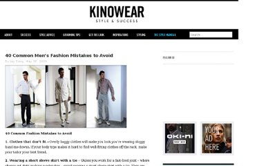 http://www.kinowear.com/blog/40-common-mens-fashion-mistakes-to-avoid