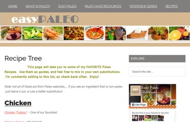 http://www.easypaleo.com/the-recipe-tree/