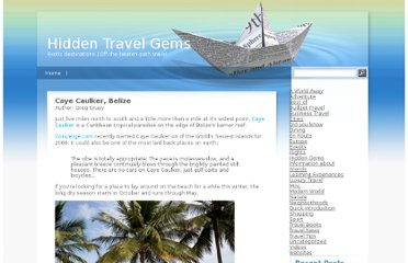 http://www.hidden-travel-gems.com/50226711/caye_caulker_belize.php