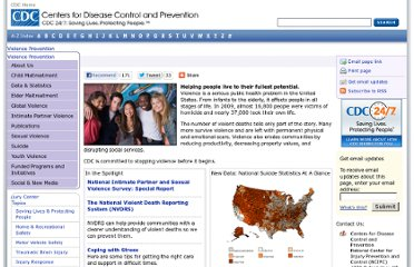http://www.cdc.gov/violenceprevention/