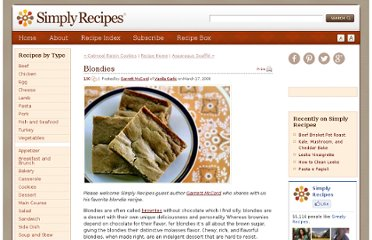 http://www.simplyrecipes.com/recipes/blondies/