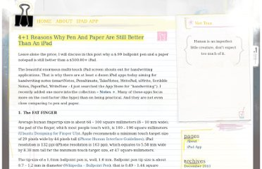 http://viettran.com/tech-talks/41-reasons-why-pen-and-paper-are-still-better-than-an-ipad