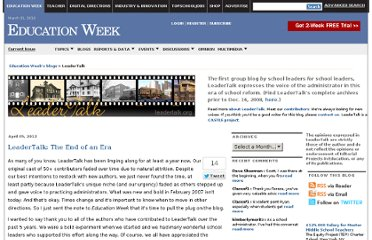 http://blogs.edweek.org/edweek/LeaderTalk/
