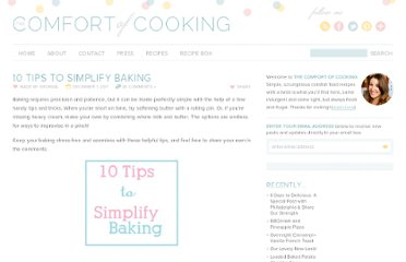 http://www.thecomfortofcooking.com/2011/12/10-tips-to-simplify-baking.html
