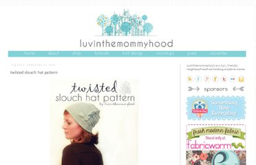 http://www.luvinthemommyhood.com/2012/02/twisted-slouch-hat-pattern.html