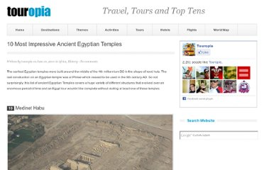http://www.touropia.com/ancient-egyptian-temples/