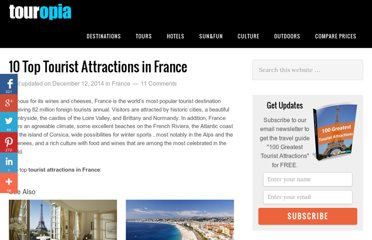 http://www.touropia.com/tourist-attractions-in-france/