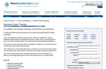 http://www.neuroleadership.com/global/product/intensive-coach-training