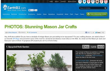 http://earth911.com/news/2012/07/09/photos-stunning-mason-jar-crafts/