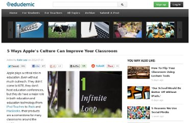 http://edudemic.com/2012/07/apple-culture-in-classroom/
