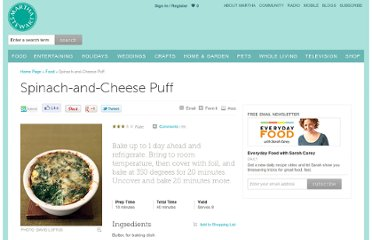 http://www.marthastewart.com/339340/spinach-and-cheese-puff