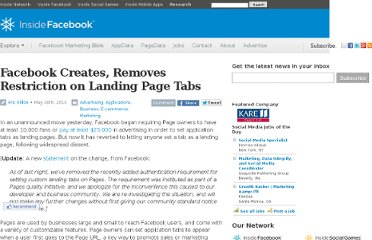 http://www.insidefacebook.com/2010/05/20/facebook-creates-removes-restriction-on-landing-page-tabs/