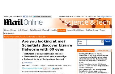 http://www.dailymail.co.uk/sciencetech/article-2177682/Are-looking-Scientists-discover-bizarre-flatworm-60-eyes.html