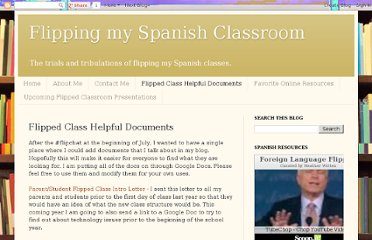 http://spanishflippedclass.blogspot.com/p/flipped-class-helpful-documents.html