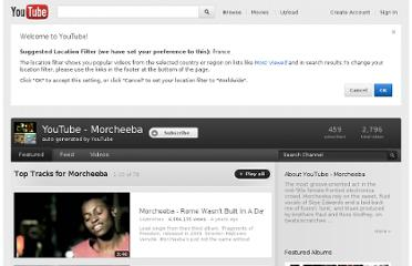 http://www.youtube.com/artist/morcheeba