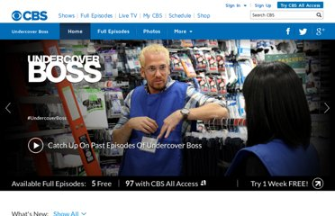 http://www.cbs.com/shows/undercover_boss/