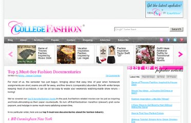 http://www.collegefashion.net/college-life/top-5-must-see-fashion-documentaries/