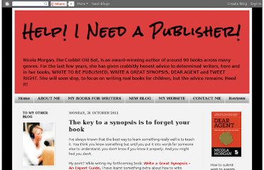 http://helpineedapublisher.blogspot.com/2011/10/key-to-synopsis-is-to-forget-your-book.html