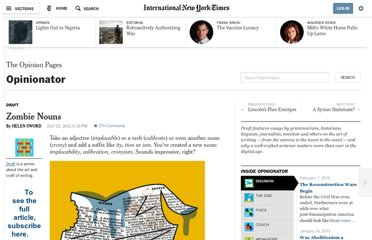 http://opinionator.blogs.nytimes.com/2012/07/23/zombie-nouns/