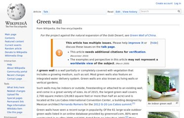 http://en.wikipedia.org/wiki/Green_wall