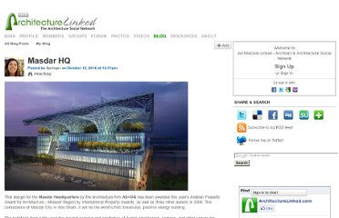 http://architecturelinked.com/profiles/blogs/masdar-hq
