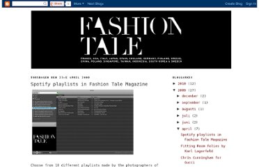 http://fashiontalemagazine.blogspot.com/2009/04/spotify-playlists-in-fashion-tale.html